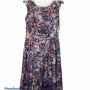 NWT Danny and Nicole floral dress size 10